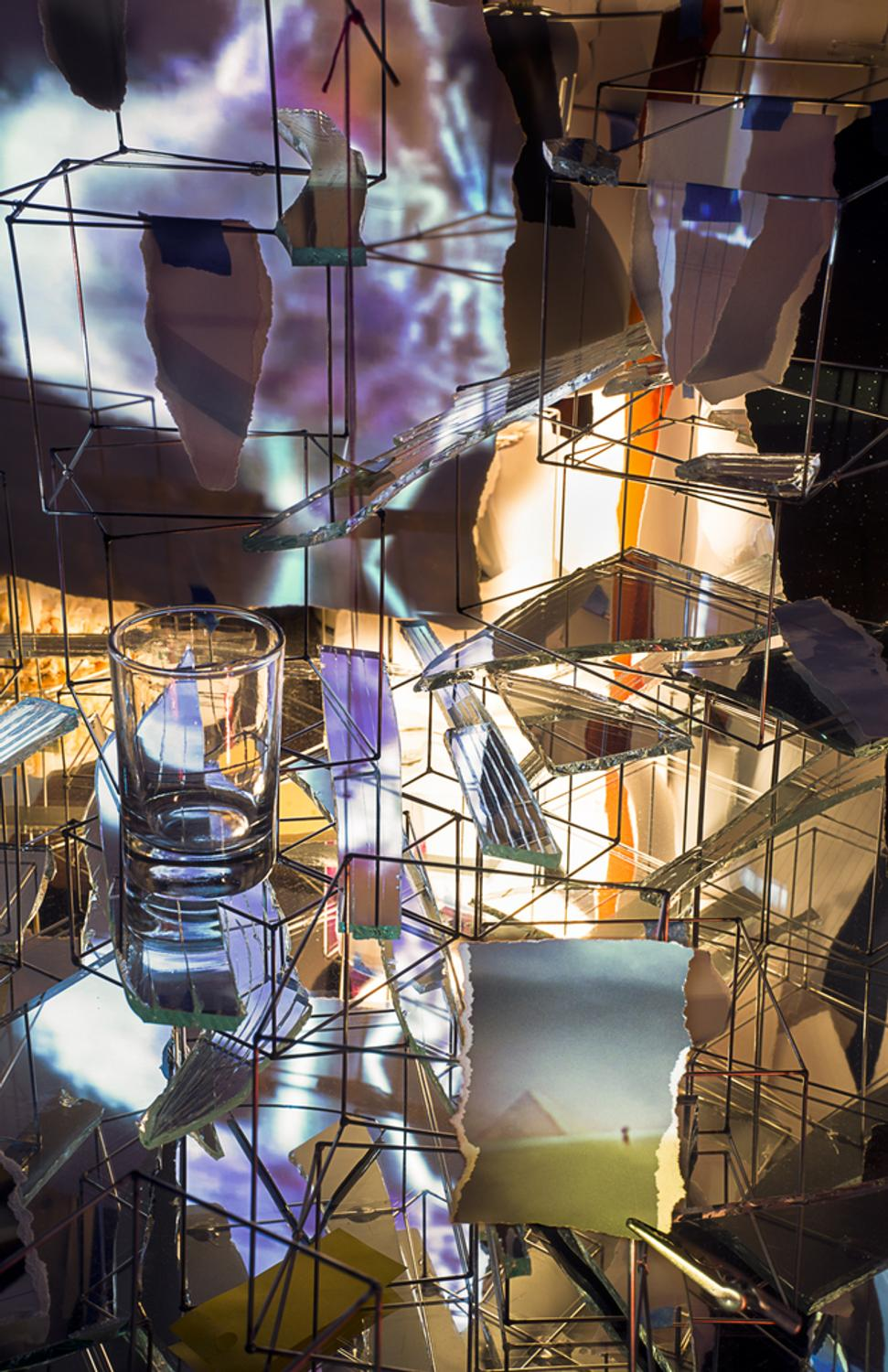 """Cancel Which Membership >> Sarah Sze's monumental """"Timekeeper"""" installation opens at Rose Art Museum - Artwire Press ..."""